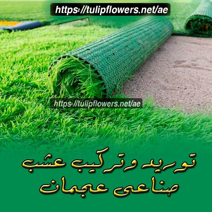 تركيب وتوريد عشب صناعى بعجمان